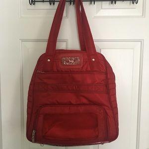 Lug red travel bag